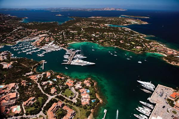 Кори Силкен. Яхт-клуб на Коста Смеральда. Сардиния. Италия