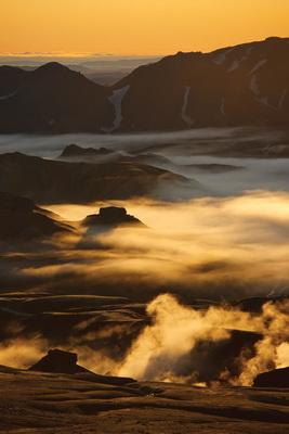 Даниэль Бергман. Исландия. Пейзаж