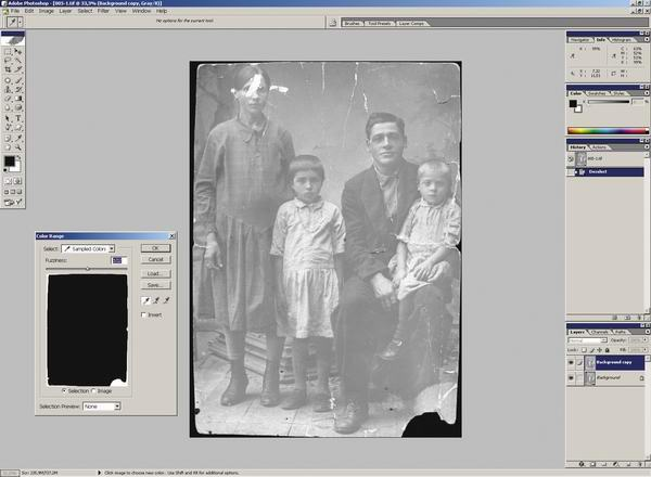 старые фотографии фотошоп: