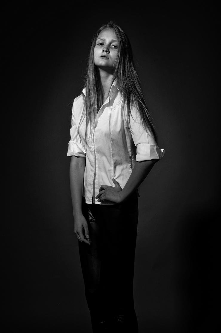Портрет девушки. Фото Михаила Рыжова