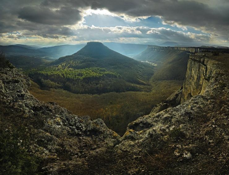 Горный пейзаж. Фото Михаила Мочалова