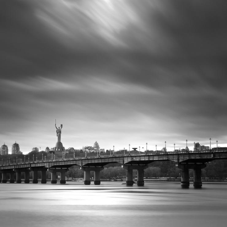 Киевский мост. Городской пейзаж. Фото Михаила Мочалова