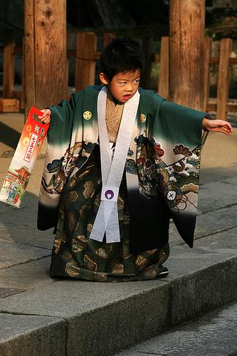 Маленький японец