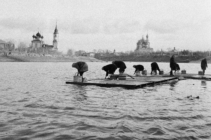 Советская действительность в творчестве Юрия Абрамочкина