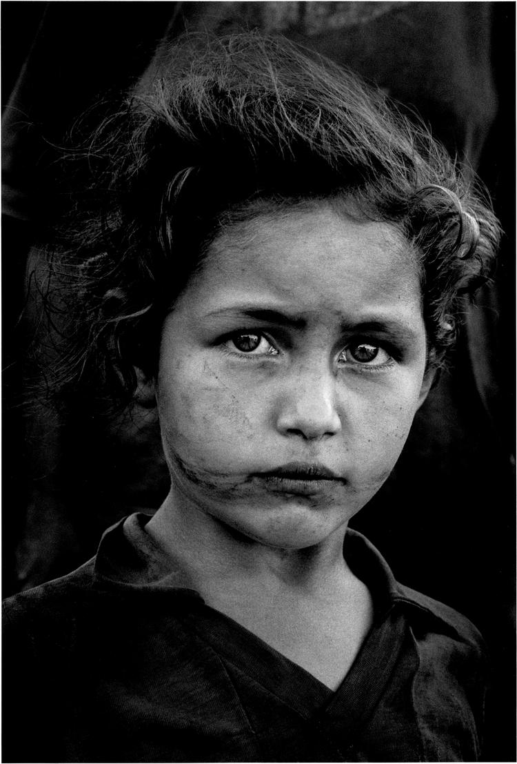 Портрет девочки. Фото Себастьяна Сальдаго