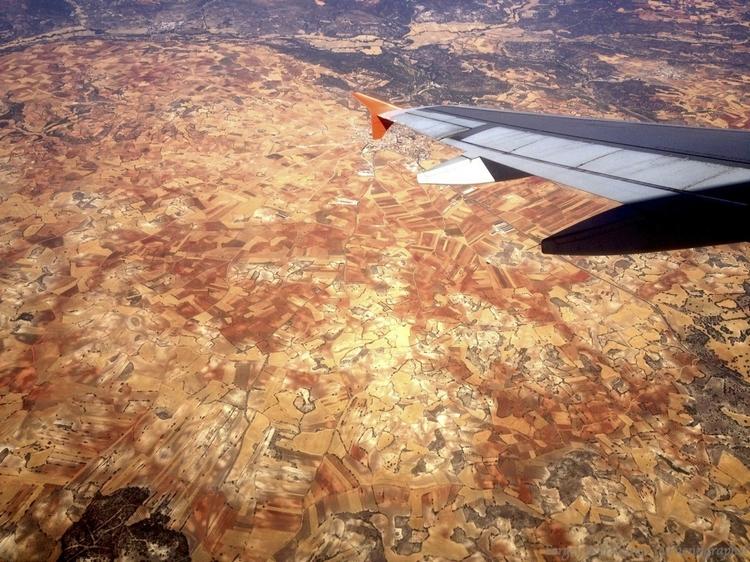 Вид с самолета. Фотографии iPhone