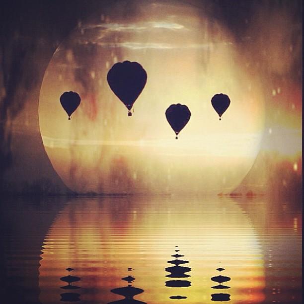 Воздушные шары. Фото Мелиссы Винсент