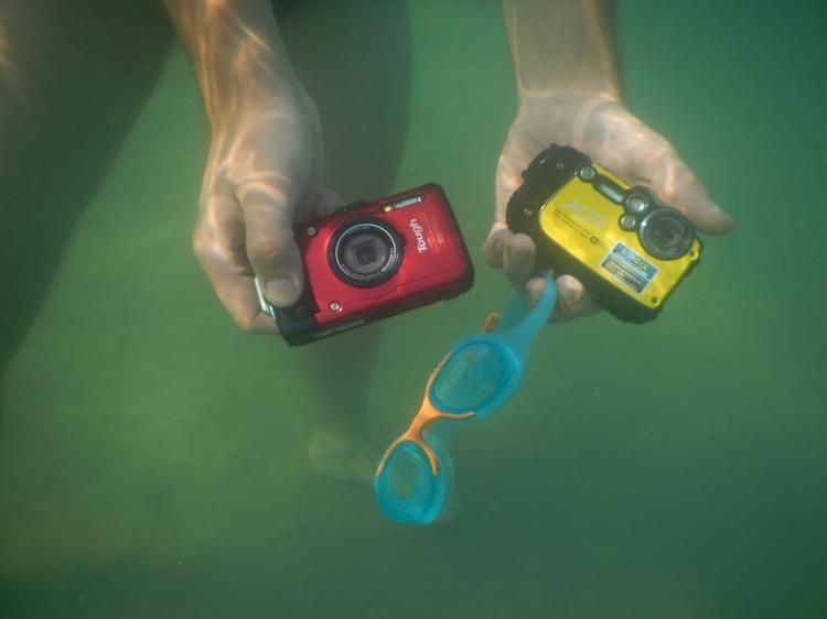 Фото под водой. Снято на  Nikon Coolpix AW110