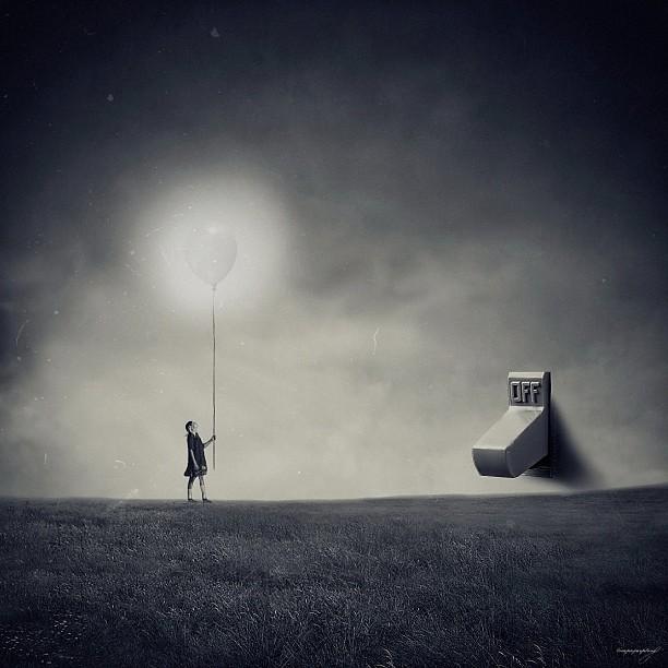 Абстрактные фотографии в Instagram