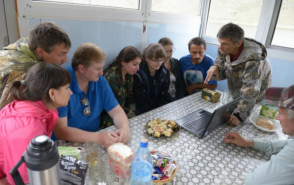 Встреча с победителями конкурсов о снежном барсе