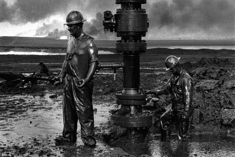 Нефтяники. Фото Себастьяна Сальгадо