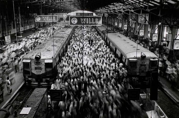 Churchgate Station. Стрит фотография Себастьяна Сальгадо