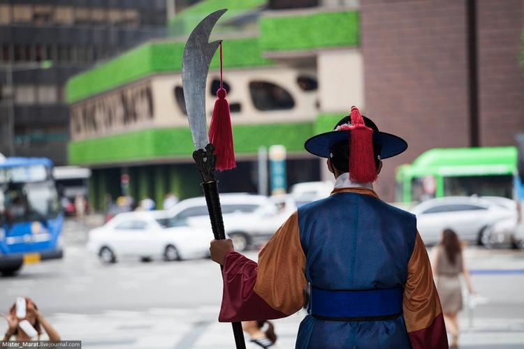 Почетный караул в Сеуле
