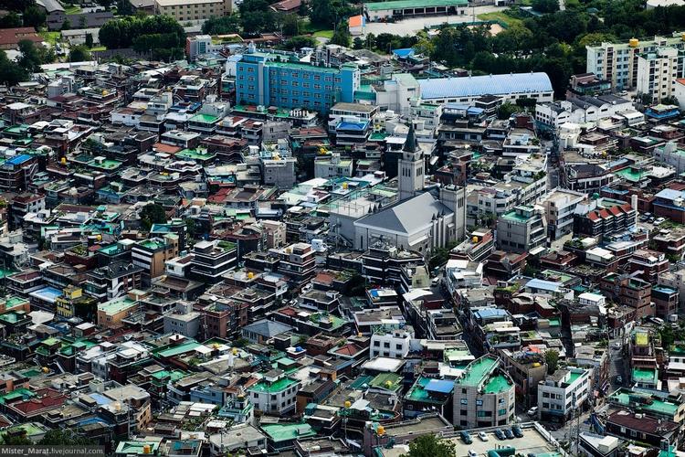 Малоэтажные дома в Сеуле