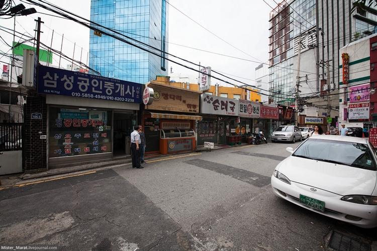 Сеул - город без надписей на английском