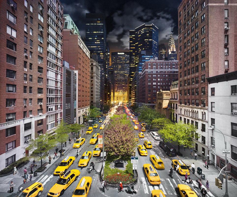 """Нью-Йорк. Фотопроект """"Day to Night"""" Стивена Уилкса (Stephen Wilkes)"""