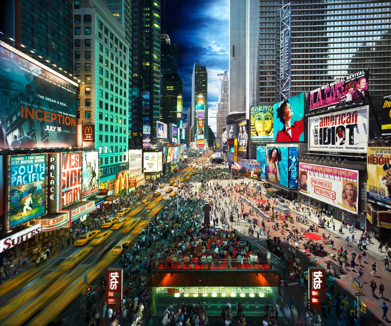 "День и ночь в Нью-Йорке. Фотопроект ""Day to Night"" Стивена Уилкса (Stephen Wilkes)"