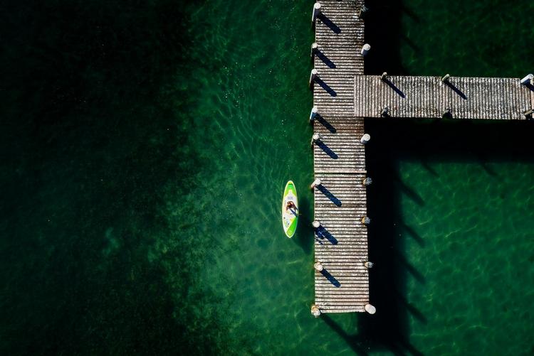 Море. Вид сверху. Фото: Chris Schmid
