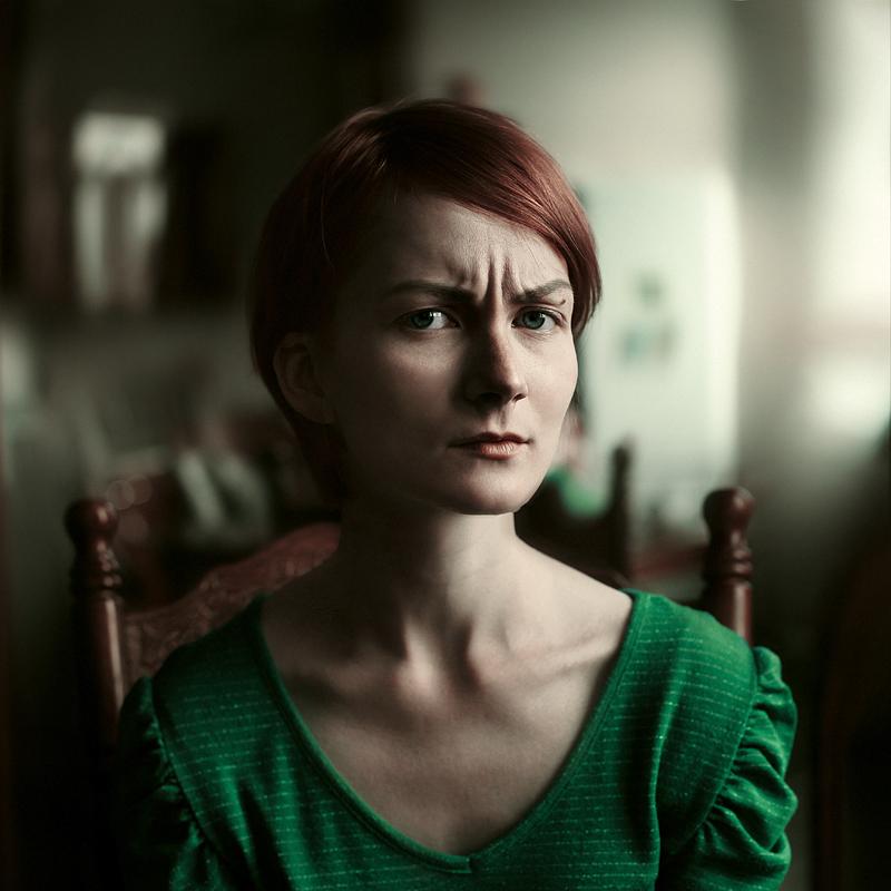 Эмоции в портрете. Фото Ефима Шевченко