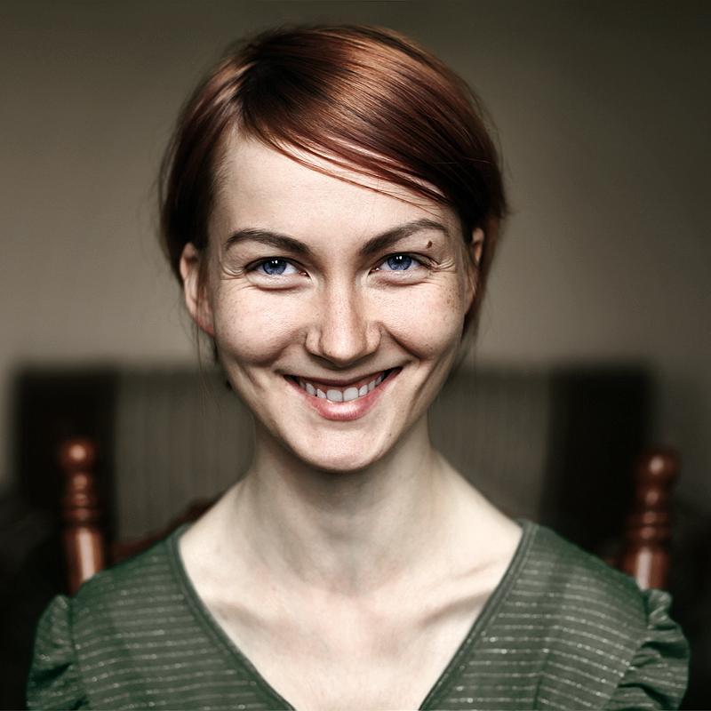 Эмоциональный портрет девушки. Фото Ефима Шевченко