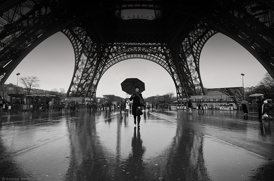 Дождь в Париже. Фото: Andrew Badenhorst