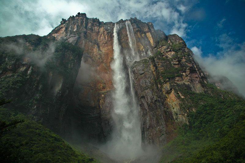 Самый высокий водопад в мире. Фото: Adam Klukowski