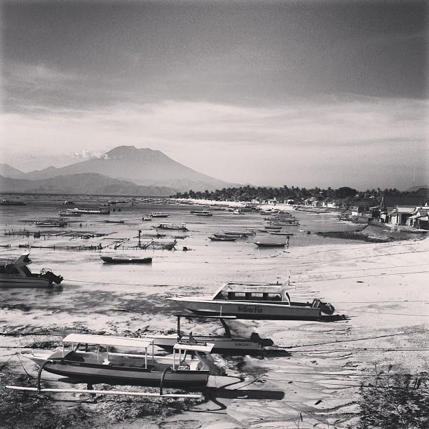 Черно-белый пейзаж. Айфонография