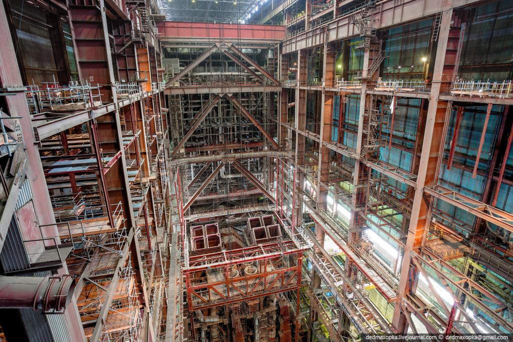 Строительство третьего энергоблока