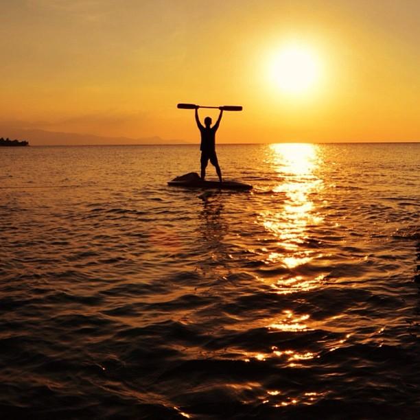 Закат. Красивые фото в инстаграм. Дарис Кахьяди