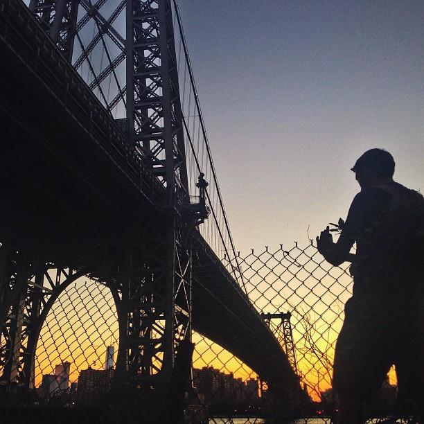 Вечер у моста. Фото: Сэм Хорайн