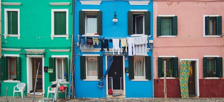 Дома Бурано. Фото Даниила Коржонова