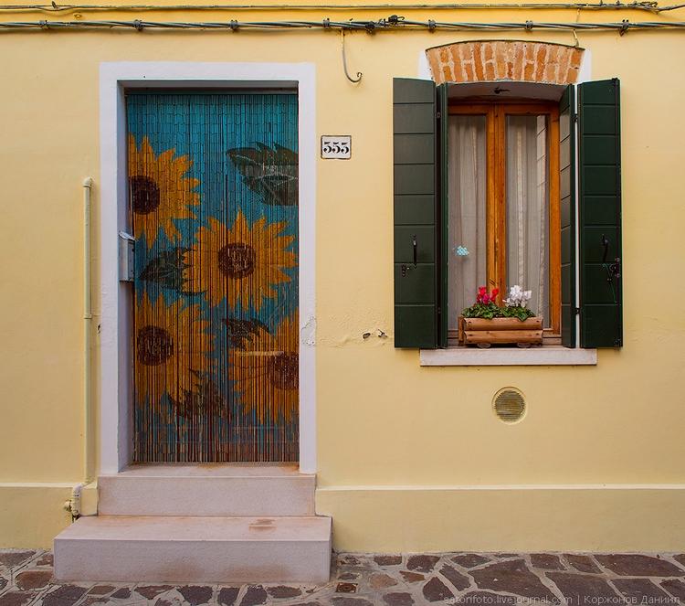 Двери и окна Бурано