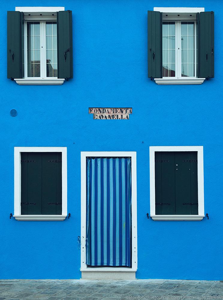 Окна, архитектура Бурано