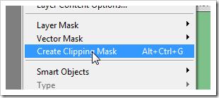 Откройте Layers > Create Clipping Mask. Маска Clipping Mask позволит окрашивать привидение в любой цвет.