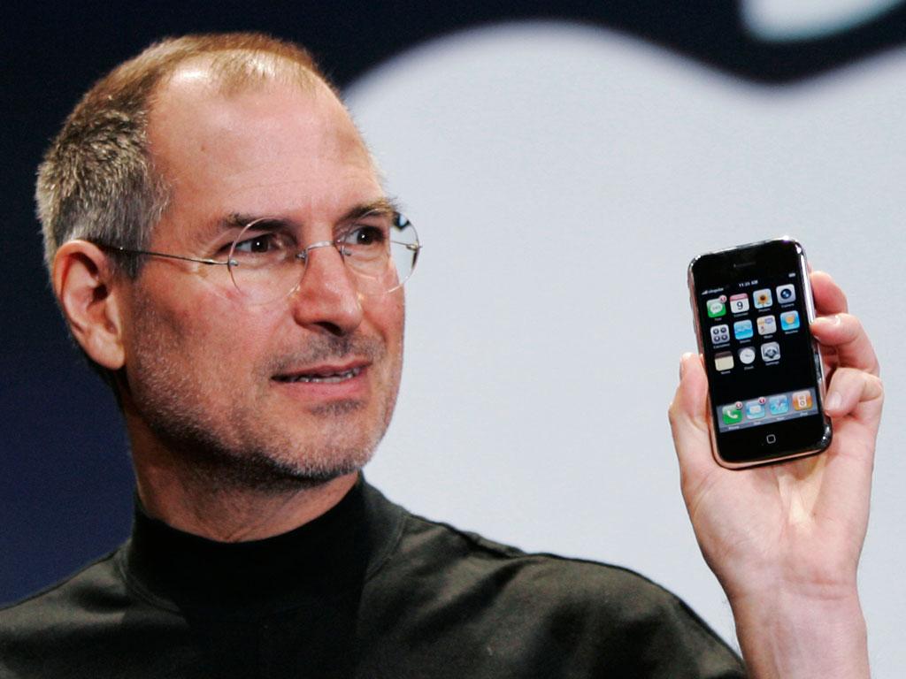 На презентации iPhone в 2007 году