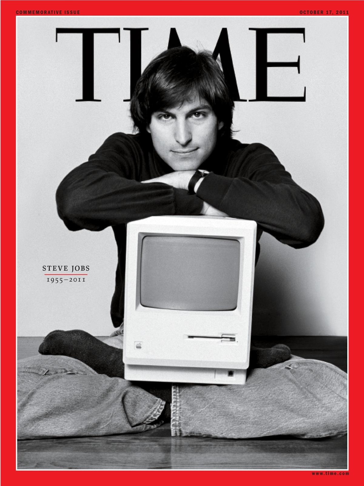 На обложке журнала Time, октябрь 2011 года