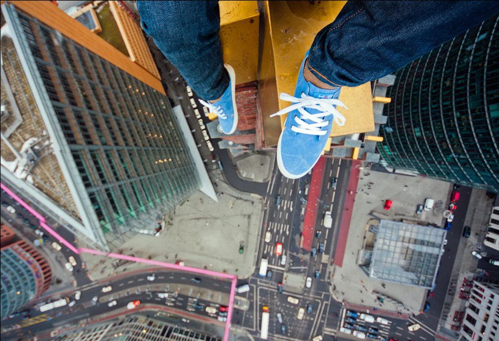 На крыше. Фото: Виталий Раскалов