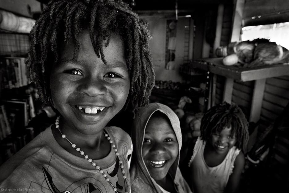 Африканские дети. Фото: Andre du Plessis