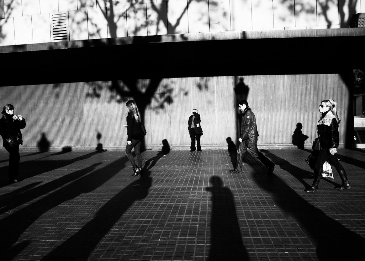 Длинные тени. Фото Tony F