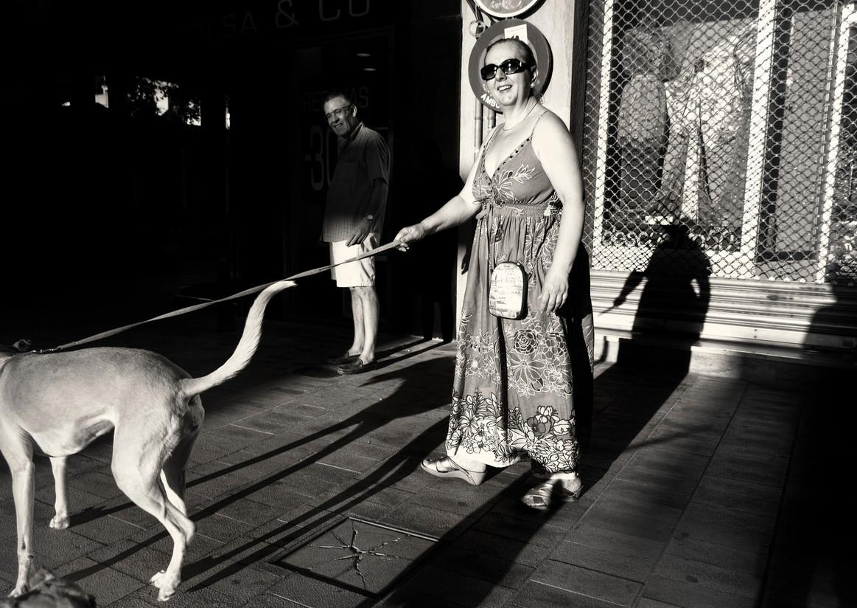 Женщина с собакой. Фото: Unoforever