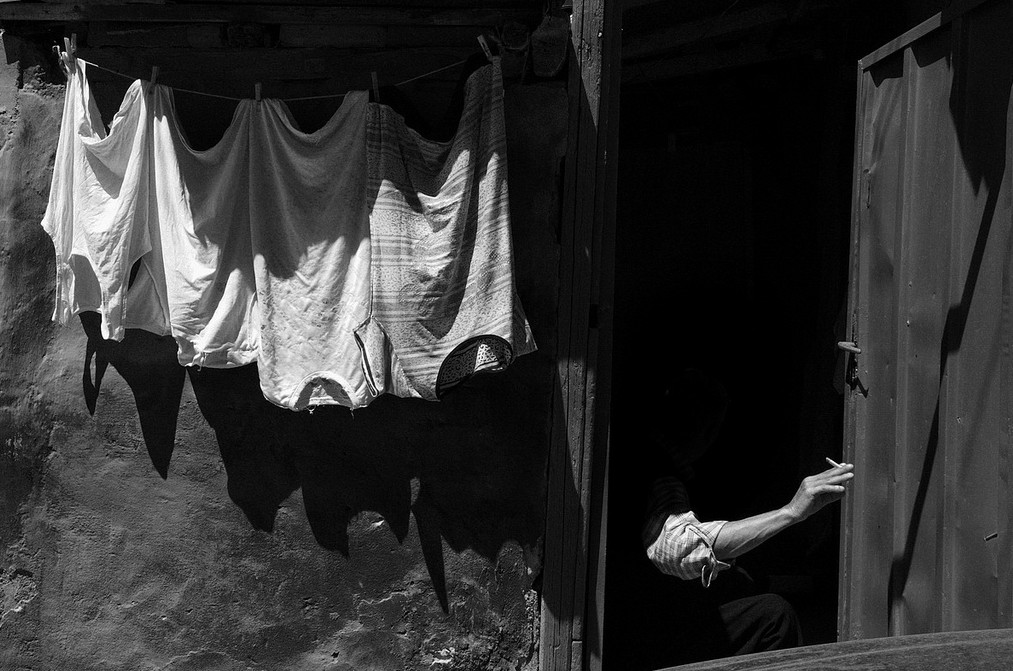 Белье на улице. Фото: Maria Spyropoulou