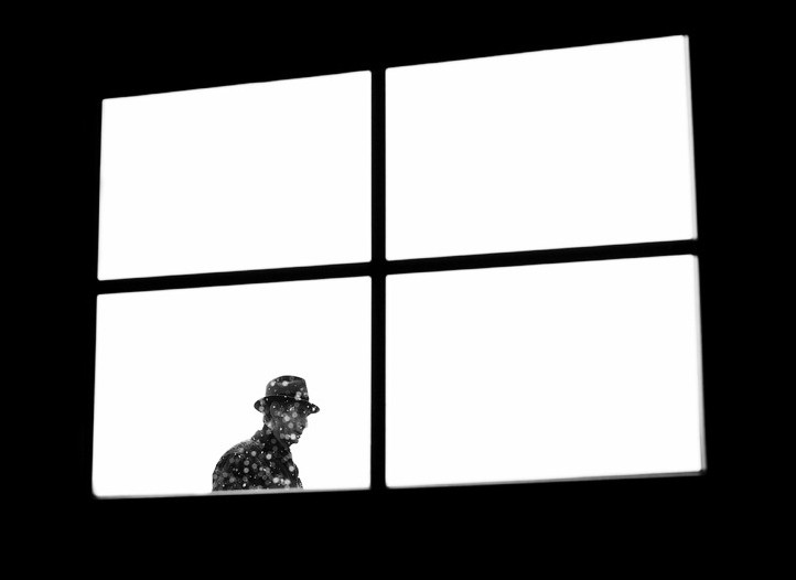 Силут в окне. Фото: Mikhail Palinchak