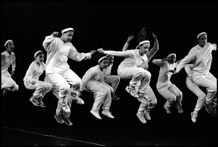 Нью-Йорк, Нью-Йорк. 1997. Национальный Институт Танца. Фото: Берт Глинн