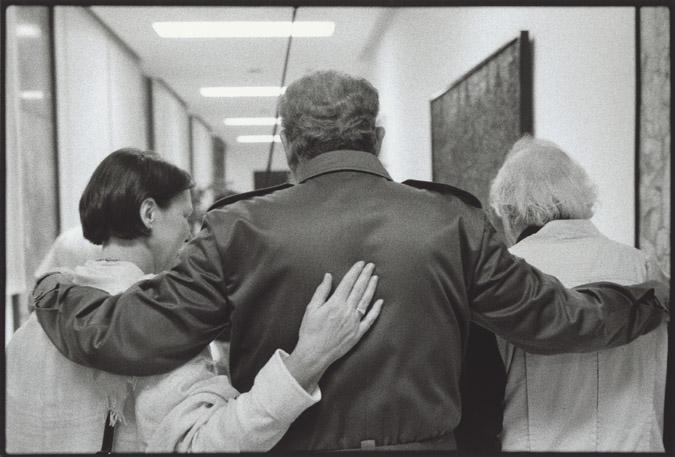 Гавана, Куба. 2001. Фидель Кастро с Бертом Глинном и его. Фото: Сэм Глин