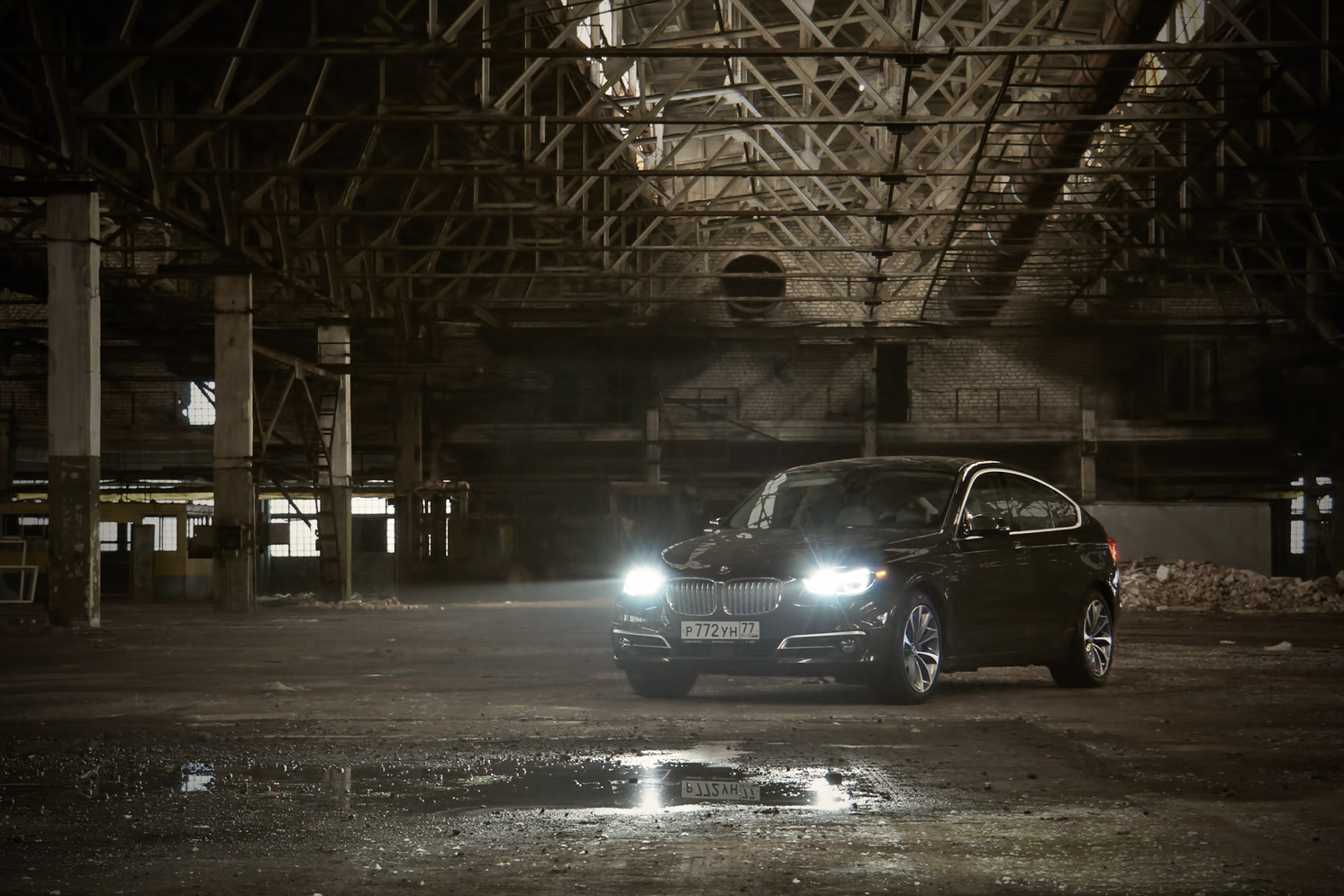 Обзор BMW GT 535 Xi