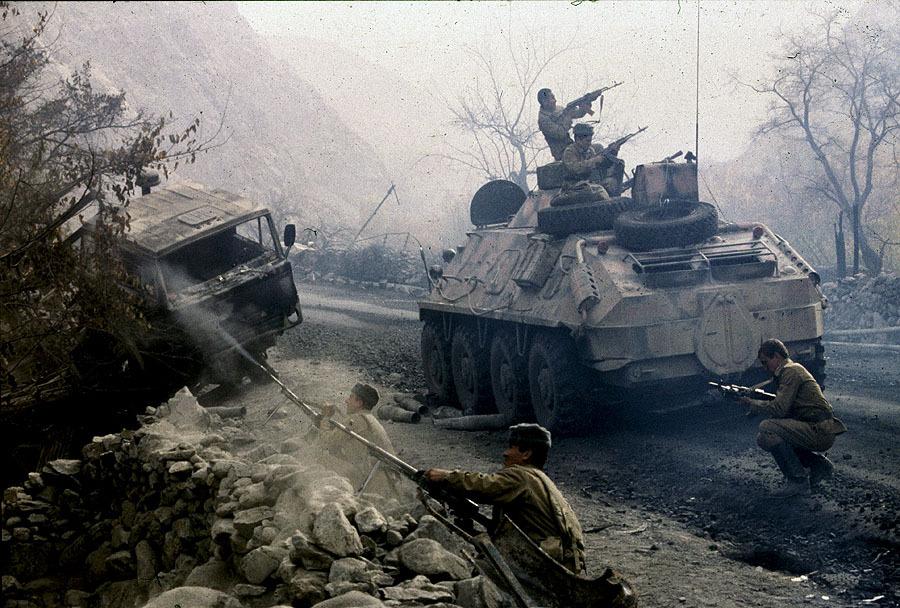 Операция прикрытия восстановления трубопровода. Дорога жизни. 1985. Афганистан