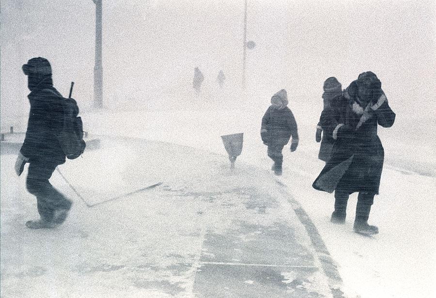 «Рано утром на рыбалку...», Комсомольск-на Амуре, 1978