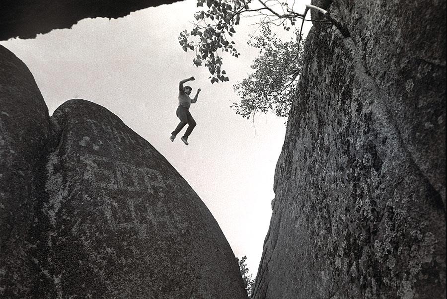 «С камня на камень». Красноярские столбы, 1980
