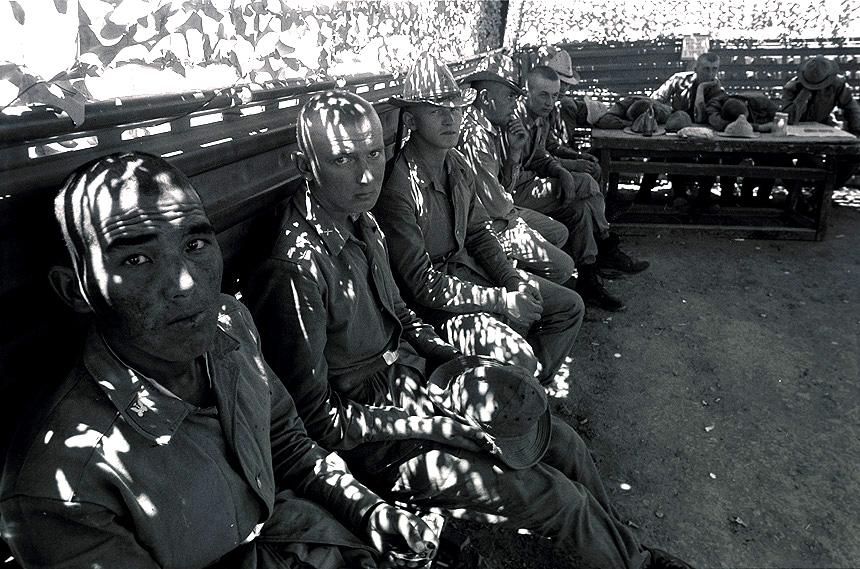 «Первый день новобранцев в Кабуле», Афганистан, 1986 год