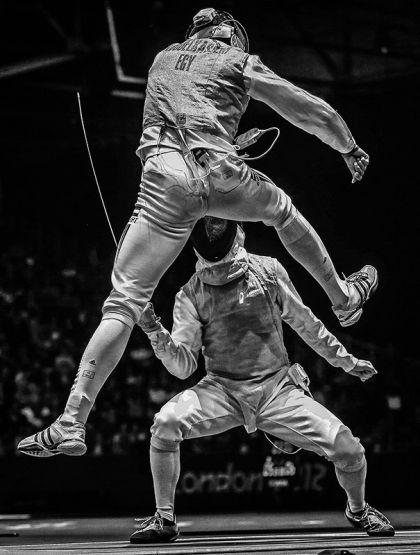 Фотография Сергея Ильницкого, представленная в посвященной фехтованию на Олимпиаде в Лондоне фотосерии, которая выиграла второй приз в категории «Спорт» на 56-ом профессиональном конкурсе фотожурналистики World Press Photo.